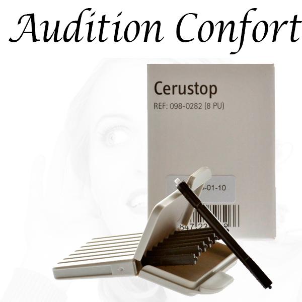 cerustop filtres pour appareils auditifs phonak widex unitron