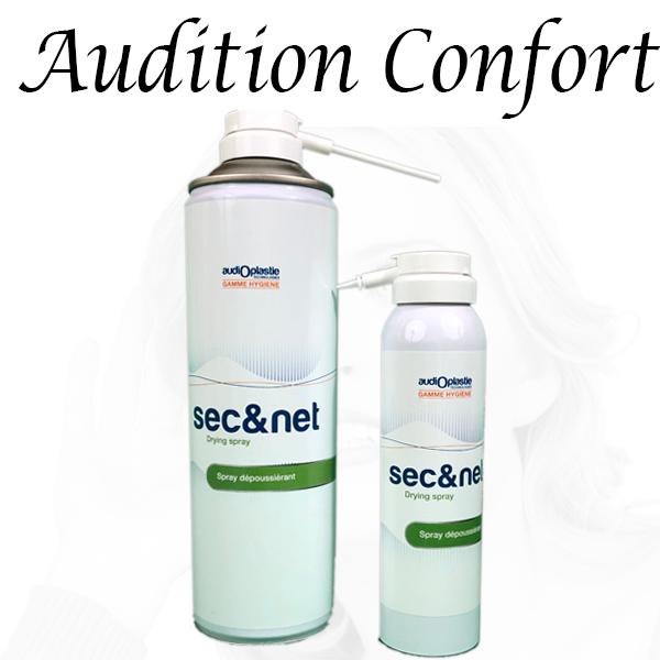 spray dépoussiérant pour appareil auditif Sec&Net bordeaux