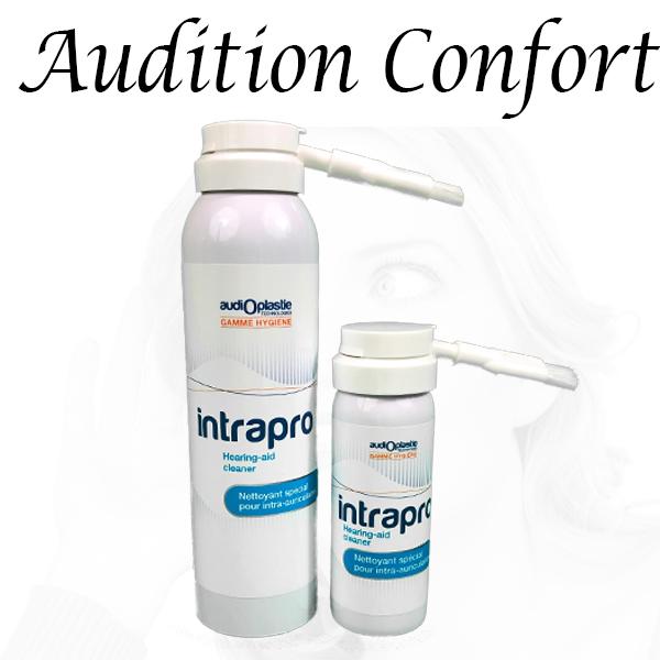 spray nettoyant pour appareil auditif intrapro bordeaux