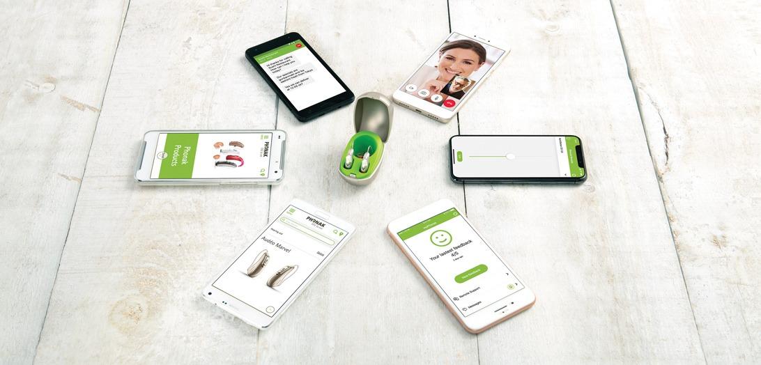 Audéo Marvel Phonak et son application smartphone télécommande