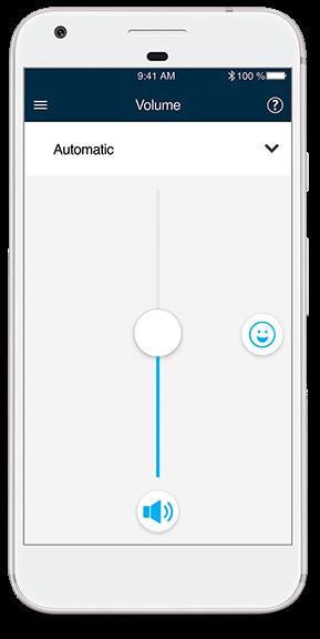 ajuster son appareil auditif avec son smartphone